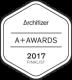 Archititzer A+Awards 2017 Finalist