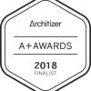 ARCHITIZER A+ AWARDS 2018 FINALIST
