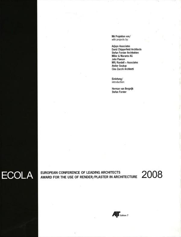 ECOLA 2008
