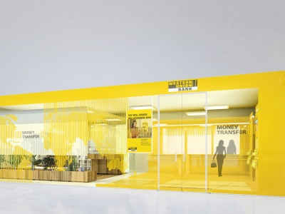 WESTERN UNION CORPORATE DESIGN