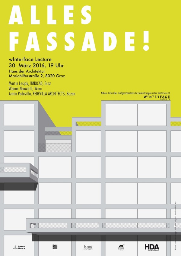 wInterface Lecture - Alles Fassade!