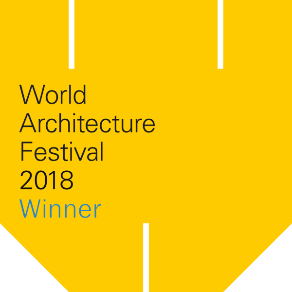 WORLD ARCHITECTURE FESTIVAL AWARD WINNER