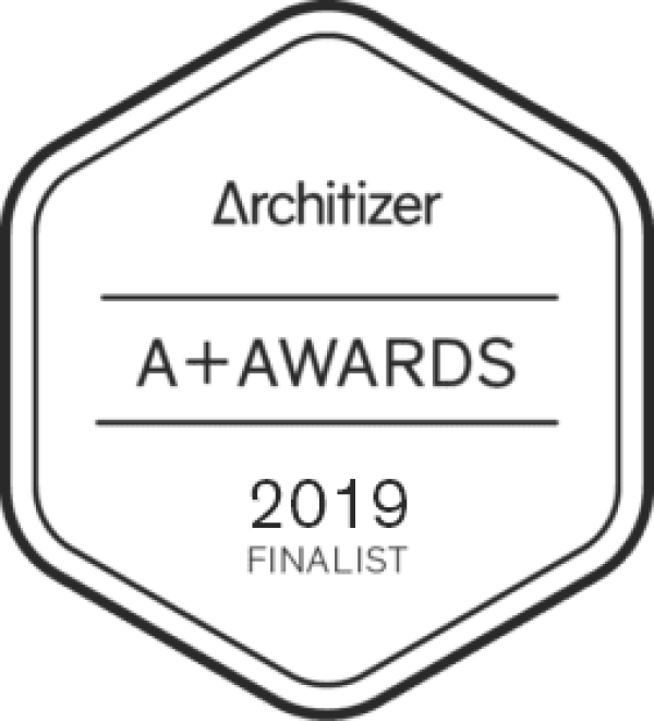 FINALIST ARCHITIZER A+AWARDS & POPULAR CHOICE AWARDS