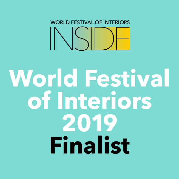 FINALIST INSIDE WORLD FESTIVAL OF INTERIORS