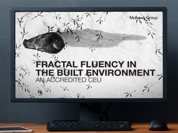 "ACCREDITED CEU ""FRACTAL FLUENCY IN THE BUILT ENVIRONMENT"""