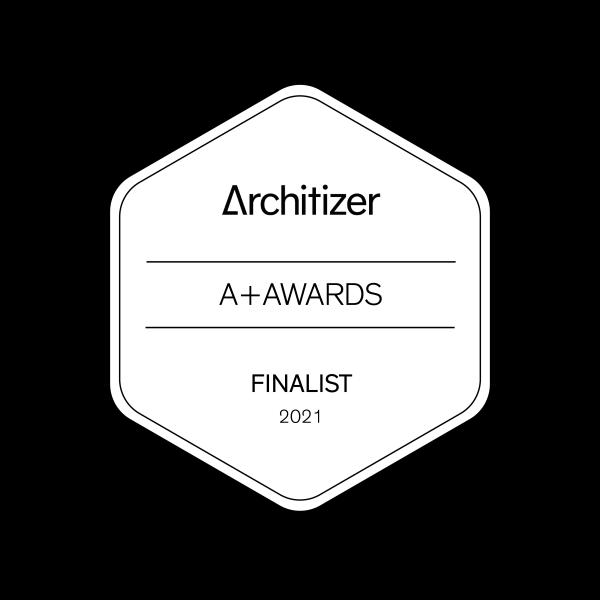 FINALIST ARCHITIZER A+ AWARDS & POPULAR CHOICE AWARDS